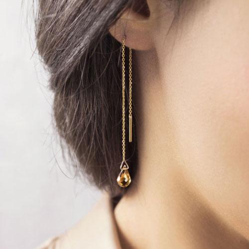 Gemstone and Birthstone Earrings